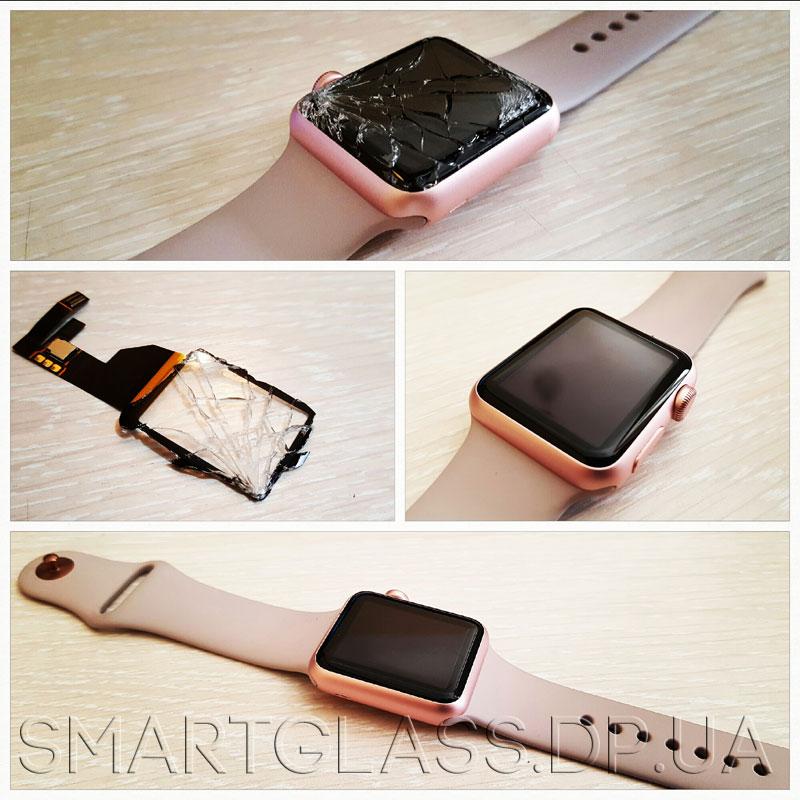 замена стекла на apple watch 2 цена